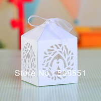 Free shipping 2014 new style laser cut Wedding favor Brids