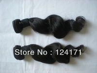 Mixed lengths 3pcs/lot brazilian virgin hair extensions 100% unprocessed human loose wave natural color on sell