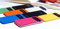 For samsung s4 mini mobile phone case i9190 i9192 mini mobile phone smart window protection holster