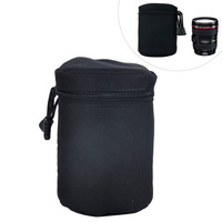 Camera Lens Protector Pouch Case Insert Bag Cover For Canon Sony Nikon DSLR SLR -BA0142-A11