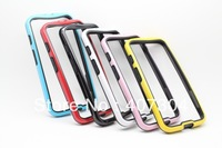 6 Colors Dual Color TPU+PC Frame Bumper Case Cover For Motorola Moto X Phone 20pcs/lot Free Shipping