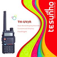 TESUNHO TH-UV7R long wide range portable compact cheap vhf uhf handheld radio portatil