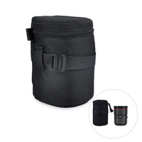 Camera Lens Protector Pouch Case Insert Bag Cover For Canon Sony Nikon DSLR SLR -BA0142-A16