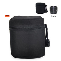 Camera Lens Protector Pouch Case Insert Bag Cover For Canon Sony Nikon DSLR SLR -BA0142-A10