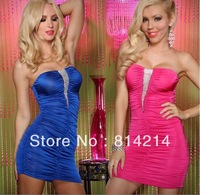 Hip dress sexy club costume Bra