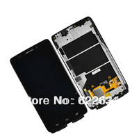 For Motorola Droid Ultra XT1080 MAXX 1080M LCD Screen Digitizer Touch + Bezel Frame Free shipping