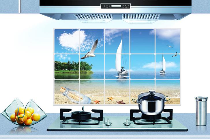 Keuken Behang Kopen : keuken kast kachel muur decor kunst sticker stickers grote pvc behang