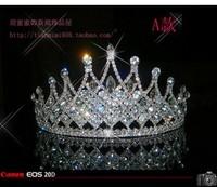 Crown Crown Princess Bride wedding bridal hair accessories wedding jewelry
