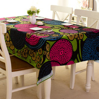 Fabric table cloth home fashion dining table cloth tablecloth table cloth towel cover