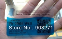 Fashion PVC card, Promise on quality,Free design,transparent business card, 0.38mm, great price, free shipping China post