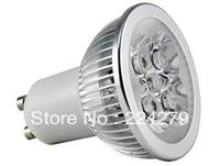 Ever Bright 10x LED GU10 2700K Warm White Spotlight  220V 4W 360 Lumen - 50 Watt Equivalent