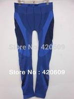 Free Ship 2014 Fashion Running Leggings Men High Elasticity Football Training Legging Pants Men Underwear Trouser Winter 1 pcs
