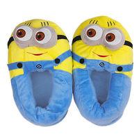 "Minion Jorge 11"" Shoe Plush Toy Doll Slippers One Size"