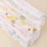 free shipping Overcastting double layer gauze handkerchief baby feeding towel baby washcloth bib