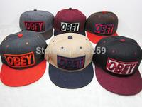 2014 New Winter Woolen snapback hats baseball cap Adjust flat-brim cap / skateboard cap for Fashion Men Women free shipping