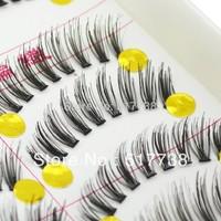 High Quality Black Thick Long False Eyelashes Eyelash Fake Eye Lashes SX29