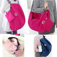 Nylon Foldable Women Travel Bags Large Capacity Luggage Travel Bags 2013 New Handbag Women Backpacks High Quality Free Shipping
