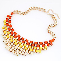 New brand2013 SALE! Retro metal temperament short necklace Free shipping
