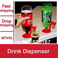4pcs Soft Drink Dispenser Fridge Fizz Saver Soda Dispenser Switch Drinking Little Bottle As Seen On TV -- MTV30 Free Shipping