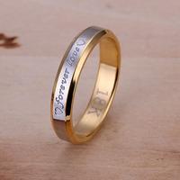 Women's Rings Forever Love for Wedding Party ring 18k Golden  #10 #9 #8 #7 #6 option R096