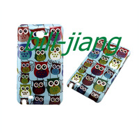 Cartoon owl Hard back case for Samsung Galaxy Note GT-N7000 i9220  1pcs/lot by china post  free shipping