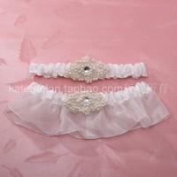 Katemelon fashion wedding supplies wedding supplies bride decoration compounds bride garter twinset