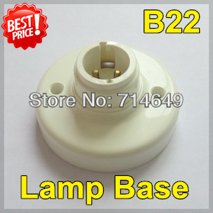 20pcs/lot, B22 lamp base, B22 buld Light socket, LED old type buld lamp aging test stand holder, free shipping(China (Mainland))
