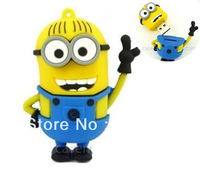 LP5 Big Minions 64GB Cartoon Cute Despicable Me Precious Milk Dad USB 2.0 Flash Drive Memory Stick Car/Thumb/Pen