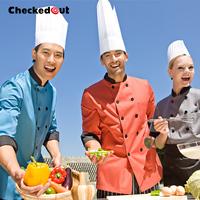 2014 NEW fashion Cook suit Long sleeve short sleeve chef uniform multicolour cook suit work wear