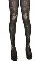 Grimoire new fashion vintage retro dark angle black socks pantyhose tights for women stockings hose japanese harajuku 506G