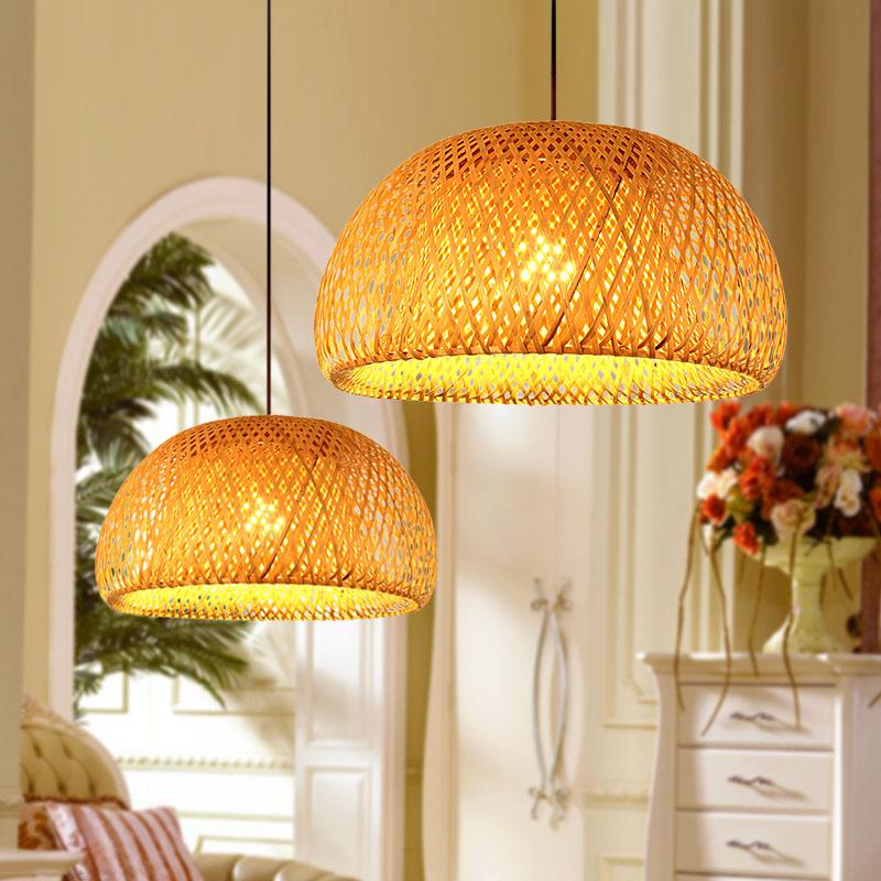 Slaapkamer Lamp Led : lamp : room pendant light chinese style bamboo lamps balcony lamp led