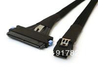 50cm Mini SAS SFF 8087 36P To SAS 32P 4i SFF 8484 Host Target Internal Cable