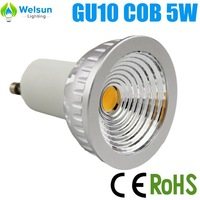 200X new 5W COB 4500K GU10/Mr16 COB LED spot lamp dimmable