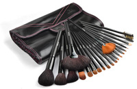 Pupa  21pcs wool black cosmetic brush set professional set cosmetic tools