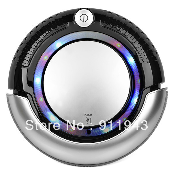 New arrive!110-240V Mini Intelligent robot vacuum cleaner K6L with LED Lights household intelligent vacuum cleaner 3 Work Mode(China (Mainland))