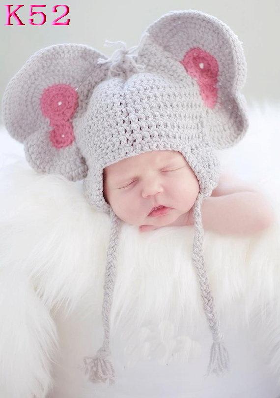 Crochet Elephant Hat Pattern Elephant Hat Baby Crochet