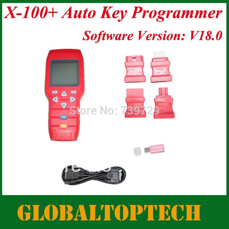 Dhl livre 2014 nova lançamentos A + qualidade Original X100 programador chave X-100 Auto chave programador X 100 programador(China (Mainland))