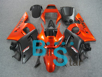 Complete fairing kit for YZF600 R6 98 99 00 01 02 1998-2002 YZF-R6 YZFR6 YZF R6 YZF600 R6 98 99 00 01 02 Black Orange BC34