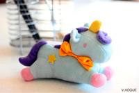1 pcs New Arrival Stuffed Toys Unicorn Case For Galaxy Note 2 Note 3 & 5 Warm Your Hands in the winter ! Free Shipping