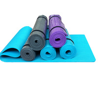Eco-friendly nbr yoga mat child dance baby crawling mat belt strap