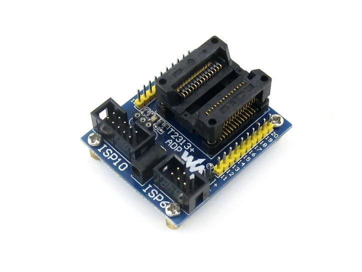 Free shipping WaveShare ATtiny2313A su AVR programming SOP20 bridge test adapter(China (Mainland))