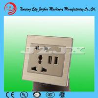 USB socket switch panel, USB wall outlet, USB86 wall charging socket