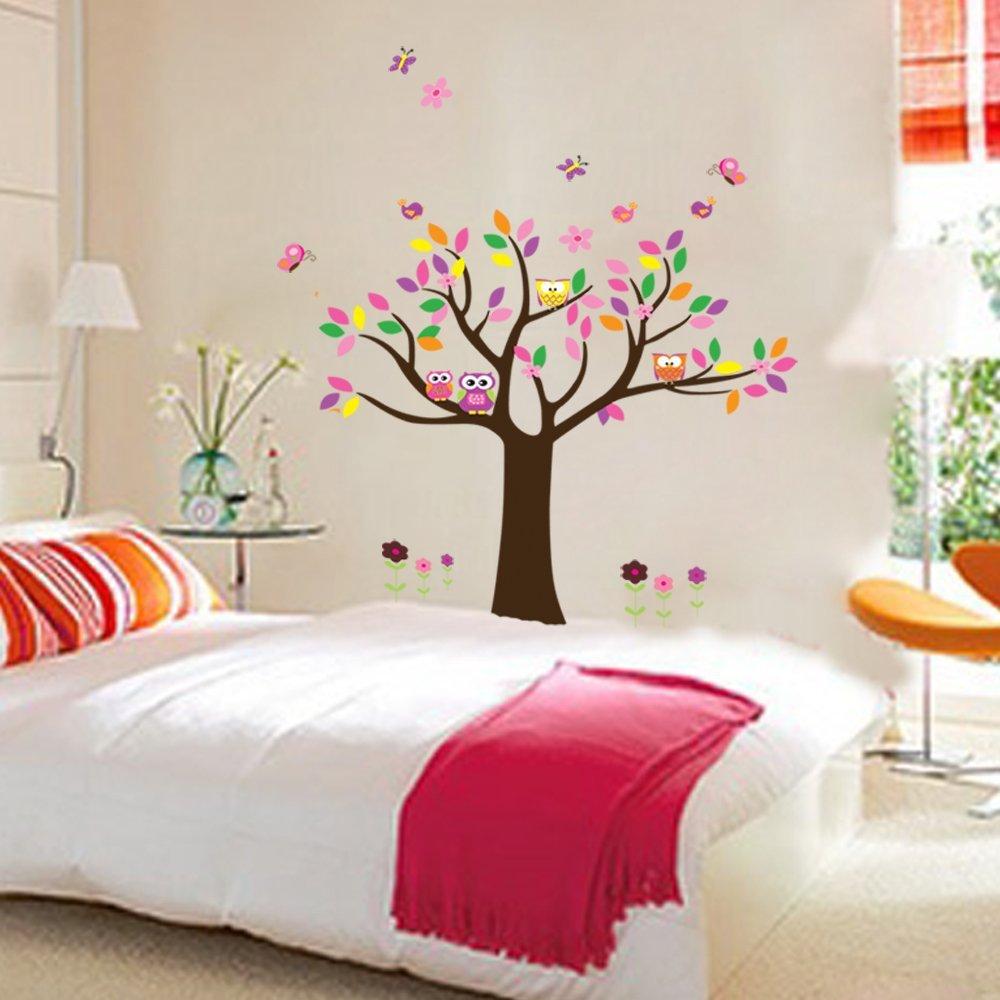 Compra decorar habitaciones infantiles online al por mayor - Decoracion paredes habitacion ...