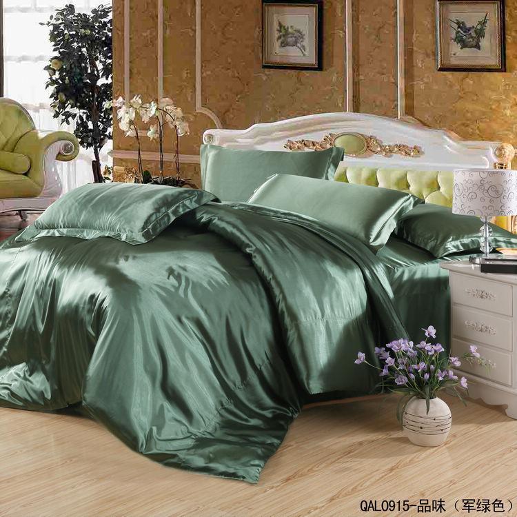 Shop popular dark green comforter from china aliexpress - Dark green comforter sets ...