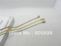 hot sell stainless steel  pendant necklace free shipping