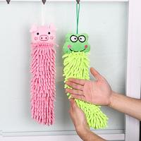 free shipping Fiber chenille cartoon hand towel wipe towel dry hand towel home
