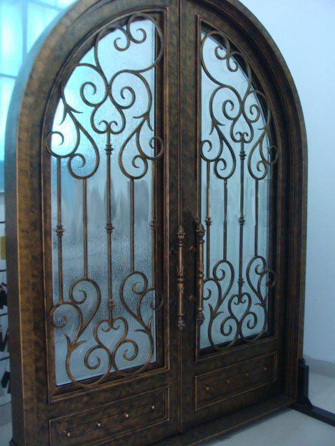 Online Get Cheap Interior Wrought Iron Doors Aliexpress