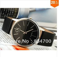 Alibaba Express Men's leather quartz watch, top brand men's luxury fashion designer items, leather Classic watch-Free Delivery