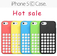 Cheap sale Silicone phone case for iphone 5c  cheap version of the case Free shipping