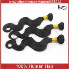"3bundles/lot Peruvian Virgin Hair weave,Remy Hair extension,12-30"" human hair body wave queen hair weff,free shipping(China (Mainland))"